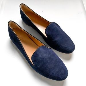 J. Crew Navy Loafers Flats